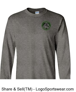PWER Wolfpack Long Sleeve t-shirt Design Zoom